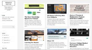 OpenETC Inspire web site